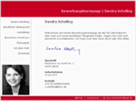 Anschreiben Bewerbung Homepage Bewerbungshomepage Neue Wege Der Bewerbung Bewerbungswege