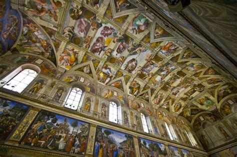 Sistine Chapel Ceiling Layout by Sistine Chapel Ceiling Italy