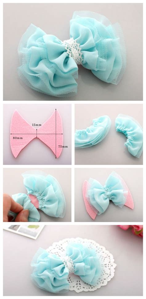 fabric crafts to make 25 best ideas about tulle bows on tulle hair