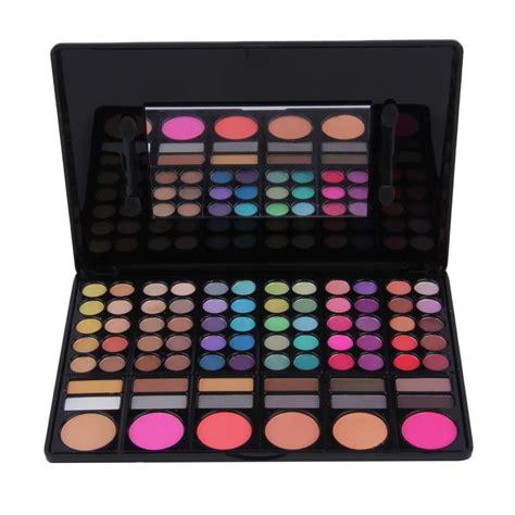 Pallet 78 Colour professional 78 color eye shadow palette cheek blusher lip