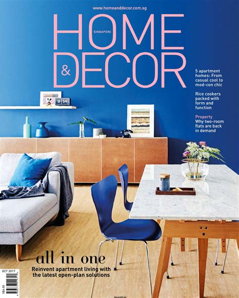 home decor magazines free download home decor singapore october 2017 free pdf magazine
