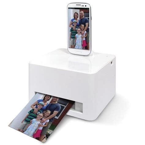 android phone printer the android smartphone photo printer prints crisp pictures without worrying about inks