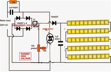 5630 smd led driver light circuit circuit diagram