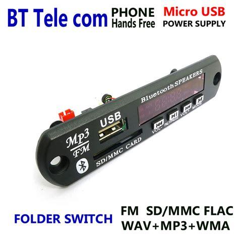 Kit Usb Plus Micro Sd Mp3 Player Plus Fm Radio Dan Remot dc 5v micro usb power supply bluetooth free lcd screen mp3 player kit flac wma wav decoder