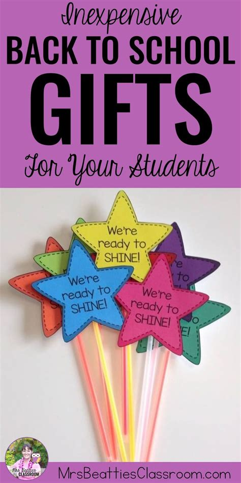 gift ideas for classroom students inexpensive back to school gifts for your students students and school