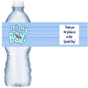 Baby Shower Bottle Labels Template by Water Bottle Labels Template Cyberuse