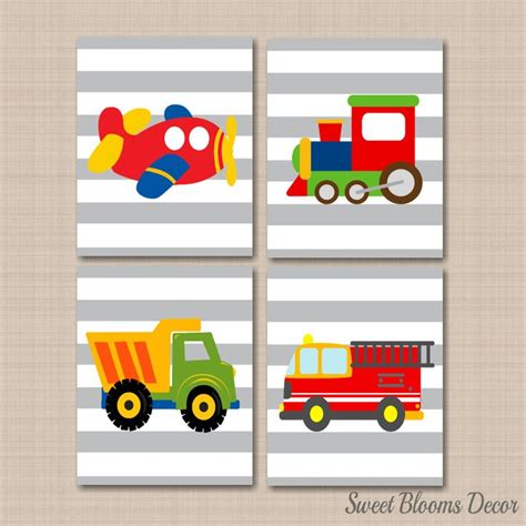 Transportation Nursery Decor Transportation Nursery Decor Vehicle Nursery Transportation Nursery Decor 11 X By
