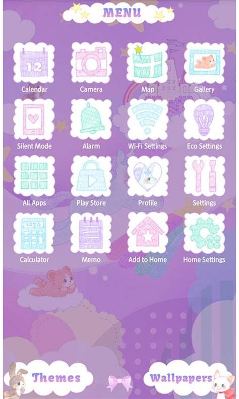 unicon themes apk cute theme unicorn fantasy android apps on google play