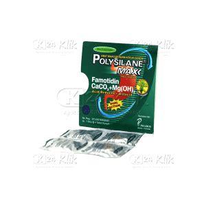 Polysilane Tablet 8 Tablet jual beli polysilane max pappermint tablet untuk sakit lambung