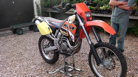 2002 Ktm 400 Exc Review 2001 Ktm 400 Exc For Sale 163 1500 Ono
