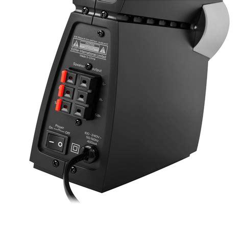 2 Audio Eingänge 1 Ausgang by Test Edifier C3x 2 1 Sound System Allround Pc