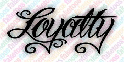 tattoo cost for words loyalty word tattoo script loyalty price 0 65 the image