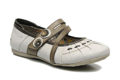 Kickers Poppy Sz 36 41 mustang shoes poppy grijs ballerina s bij sarenza nl