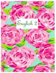 Lilly pulitzer inspired binder covers craft room office pinterest