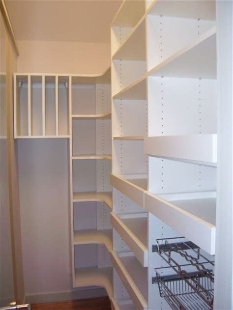 Narrow Closet Ideas by Pantry Design Ideas California Closets Dfw Pantry Kitchen Ideas Corner Space