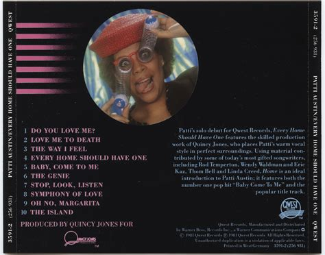 Cd Patti Every Home Should On Target Cd Patti Every Home Should One V001