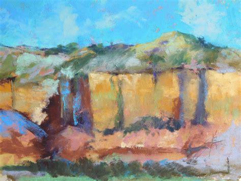 Landscape Paintings Usa Cathyann S Studio Pastel Landscape Western Usa Escarpment