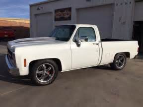 Wheels Truck 1980 1980 Gmc Classic C10 Bed 350 White