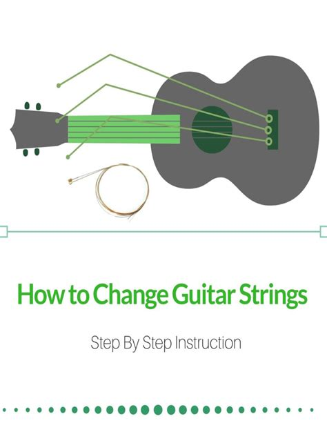 Step By Step String - how to change guitar strings step by step