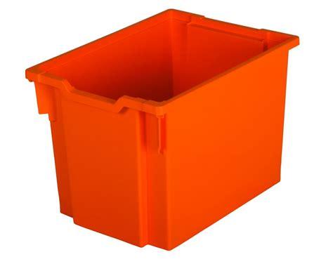 Acrylic Jumbo plastic drawer jumbo orange gratnells