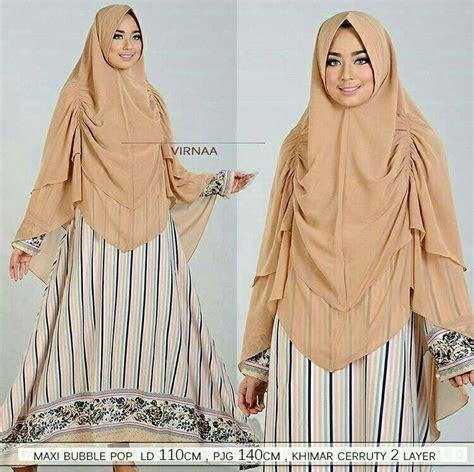Gamis Larissha Syari Matt Jersey Premium Busui Khimar virnaa syari mocca model baju gamis terbaru
