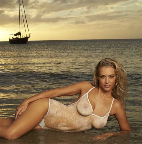 hannah ferguson sports illustrated 2014 body paint 2014 sports illustrated swimsuit models in nothing but