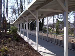 Wood Awnings For Homes Covered Walkway Canopies From Mitchell Metals On Aecinfo Com