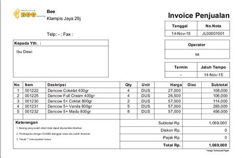 menambahkan menilkan nama sales di nota invoice penjualan