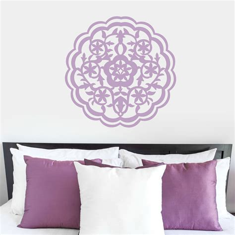 moroccan wall stickers moroccan flower wall decal