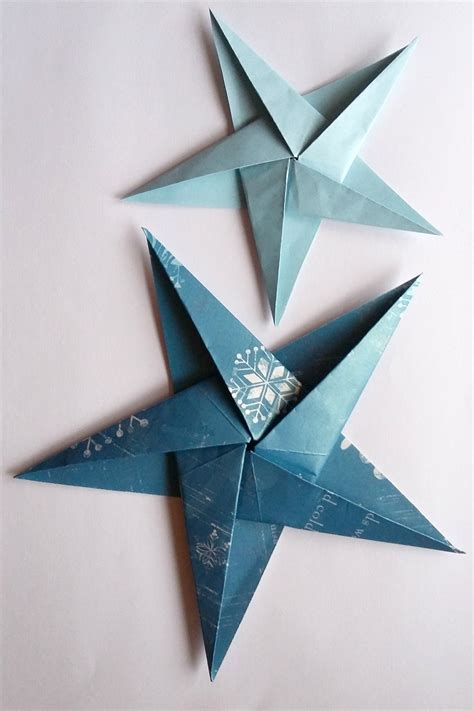 Make Folded Paper - how to make folded paper decorations origami