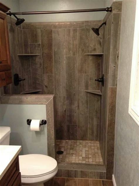 how to make a small bathroom look like a spa ceramic tile that looks like barn wood for the home