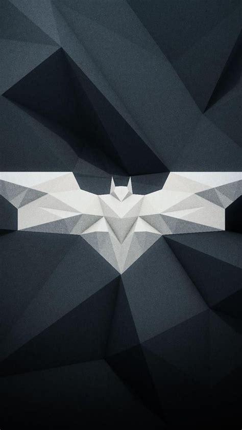 batman geometric logo wallpaper  iphone
