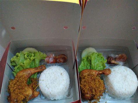 Nasi Box Paket Murah daftar menu catering nasi kotak jogja november nasi