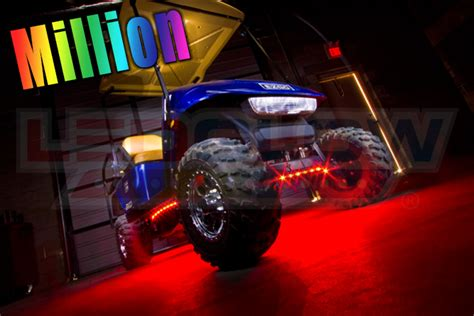 million color led golf cart underbody lights customize
