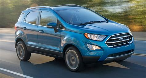 ford suv 2018 preview 2018 ford ecosport suv consumer reports