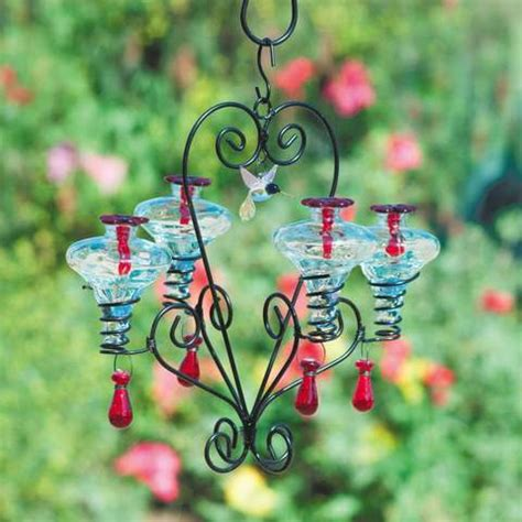 Chandelier Hummingbird Feeder Unique Hummingbird Feeders Ceramic And Glass Hummingbird Feeder The Birdhouse