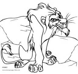 free lion mouse coloring pages