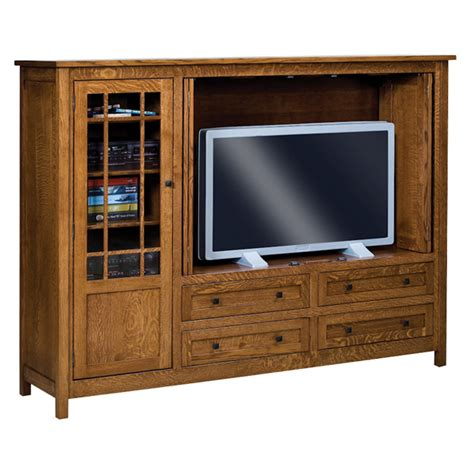 Tv Cupboard Amish Entertainment Centers Amish Furniture Shipshewana