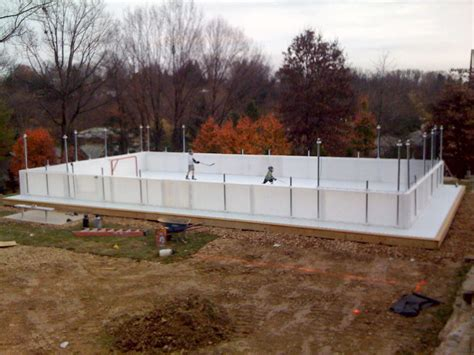ice rink in backyard studio647 welcome back hockey the