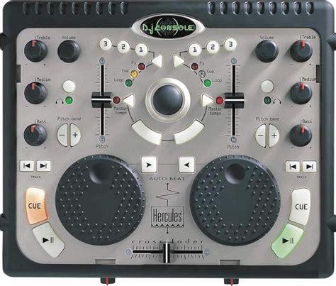console deejay dj console hercules dj console audiofanzine