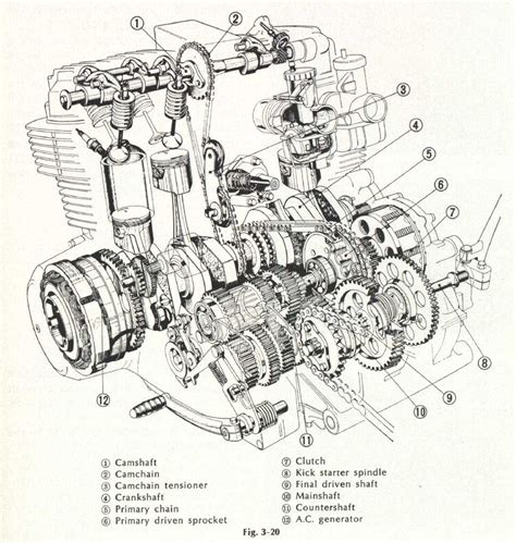 honda 750 motorcycle engine diagram get free image about