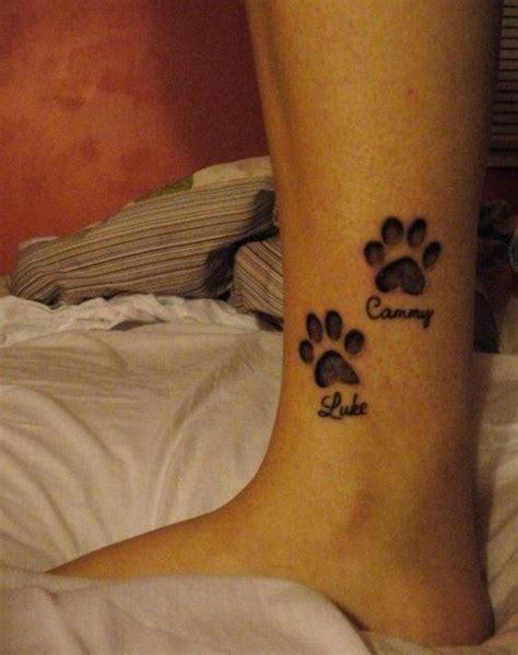 paw print with name foot 45 best colorful footprint tattoos images on