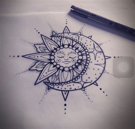 tattoo mandala pinterest you re the sun and the moon and all the stars ink