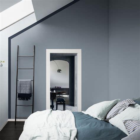 Couleur Peinture Bleu Gris by Peinture Chambre Gris Et Bleu 4418 Sprint Co