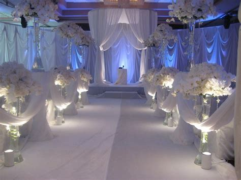 all white decor top 19 wedding reception decorations with photos