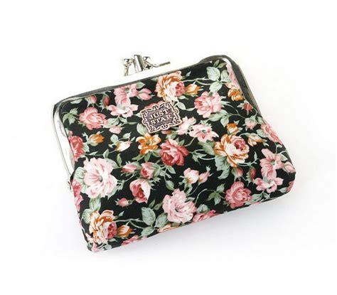 Floral Coin Purse 2016 2017 floral delicacy buckle coin purse color