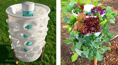 Garden Tower Vertical Container Garden Tower Composting 50 Plants Real Food Anywhere