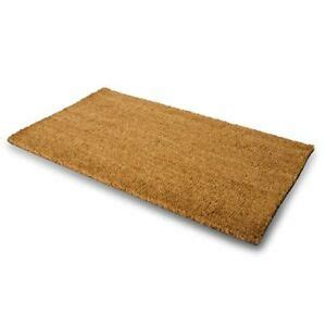 Large Coir Doormat by Door Outdoor Floor Welcome Mat Heavy Duty Large
