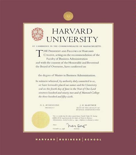 Harvard Mba Diploma by Custom Diploma Frames Certificate Frames Framing