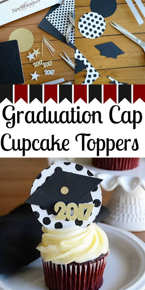 Cupcake Topper New Year Season S Greetings Bulat 5 Cm Topper Cup Cake how to make graduation cap cupcake toppers storypiece